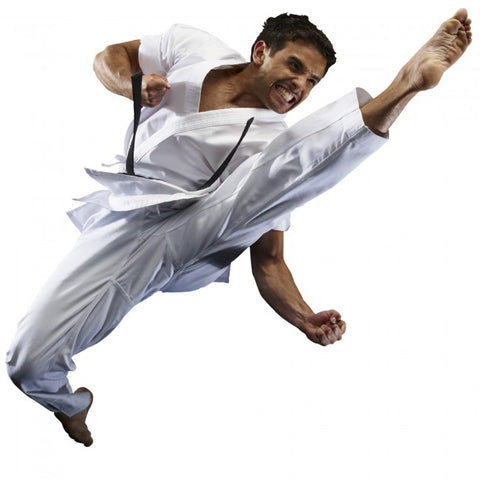 MACHO TRADITIONAL MIDDLEWEIGHT KARATE GI (8.5 OZ)