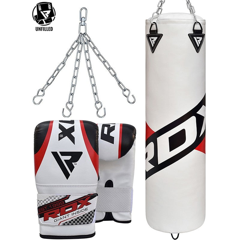 RDX F10 UNFILLED PUNCH BAG WITH BAG MITTS-1