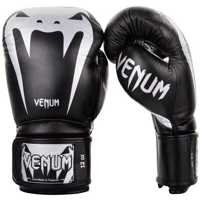 TITLE-VENUM-GIANT 3.0 TRAINING GLOVES-Black/Silver