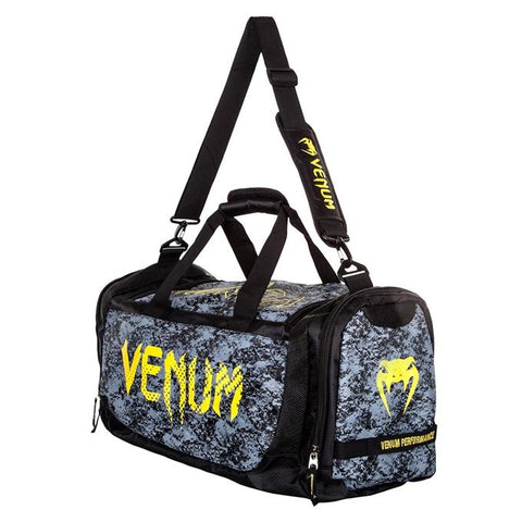 Venum-Tramo Sport Bag - Black/Yellow-1