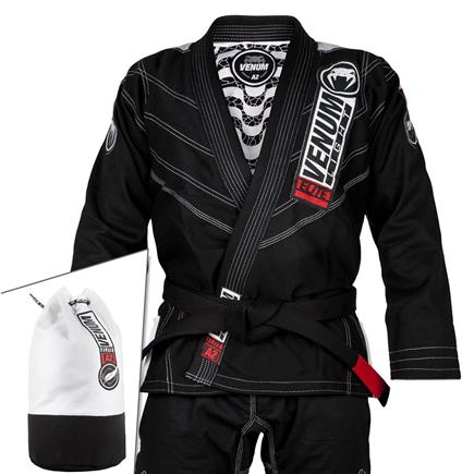 VENUM-ELITE LIGHT 2.0 JIU JITSU GI (BAG INCLUDED)-Black