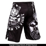 Venum-Born To Fight Kids Grappling Shorts-4