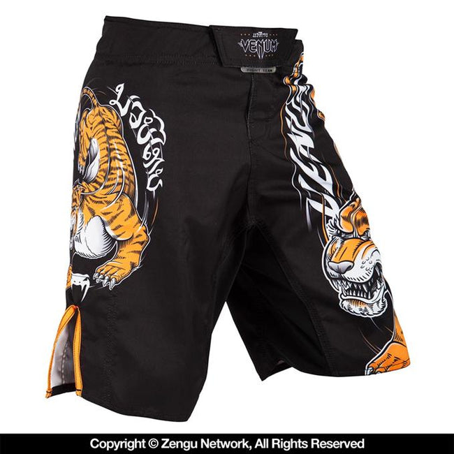 Venum-Tiger King Kids Grappling Shorts-1