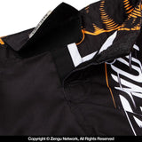 Venum-Tiger King Kids Grappling Shorts-9