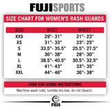 FUJI SPORTS WOMEN'S KIMONO RASH GUARD-White-7