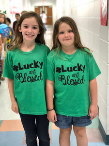 Lucky and Blessed Youth Tee