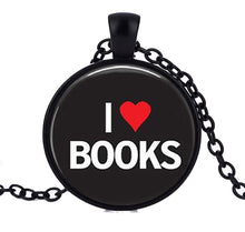 I Love Books Necklace