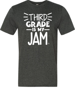 3rd Grade Is My Jam Grade Level Tee
