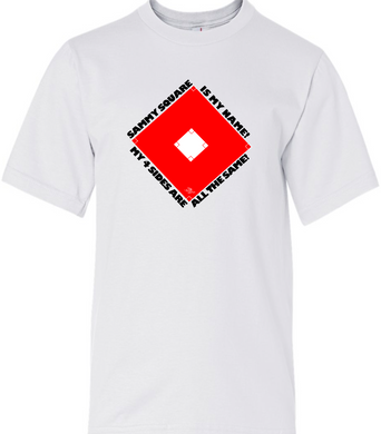 Sammy Square Youth Tee