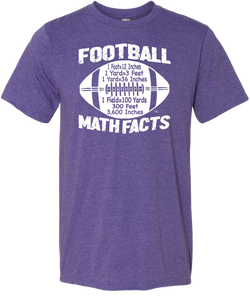 Football Math Facts Tee