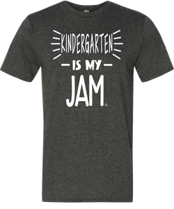 Kindergarten Is My Jam Grade Level Tee