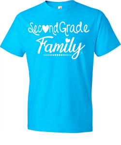 2nd Grade Family Grade Level Tee