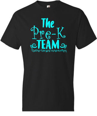 The Pre-K Team Grade Level Tee