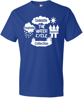 NEW!!! The Water Cycle Tee (PREORDER)