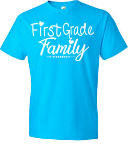 1st Grade Family Grade Level Tee