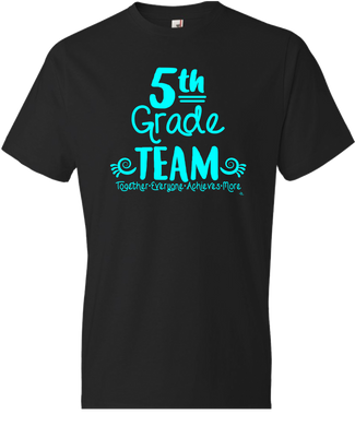 5th Grade Team Grade Level Tee
