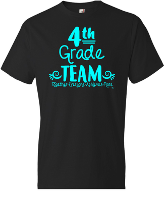 4th Grade Team Grade Level Tee
