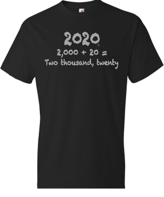 Number Form: 2020 Tee
