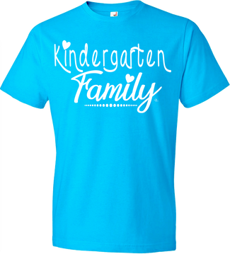 Kindergarten Family Grade Level Tee