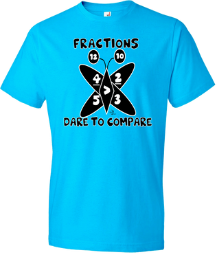Fractions: Dare To Compare Tee