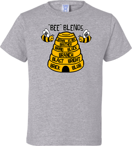 """Bee"" Blends Toddler Tee"