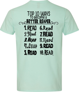 Top 10 Ways To Become A Better Reader Tee