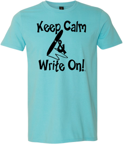 Keep Calm & Write On Testing Tee