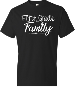 5th Grade Family Grade Level Tee