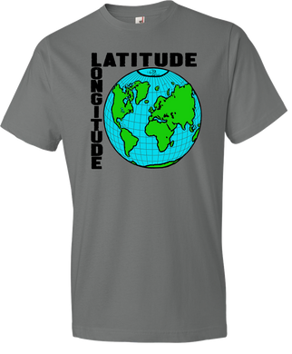 Latitude and Longitude Tee
