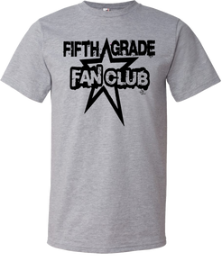 5th Grade Fan Club Grade Level Tee