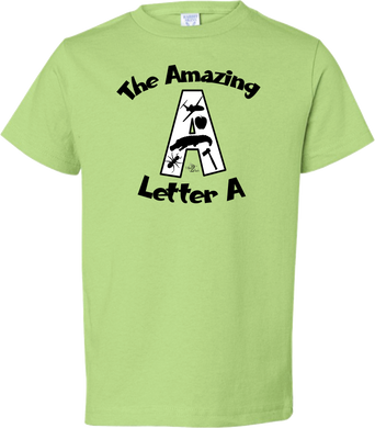 The Amazing Letter A Toddler Tee