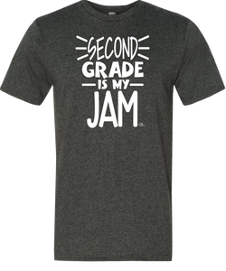2nd Grade Is My Jam Grade Level Tee