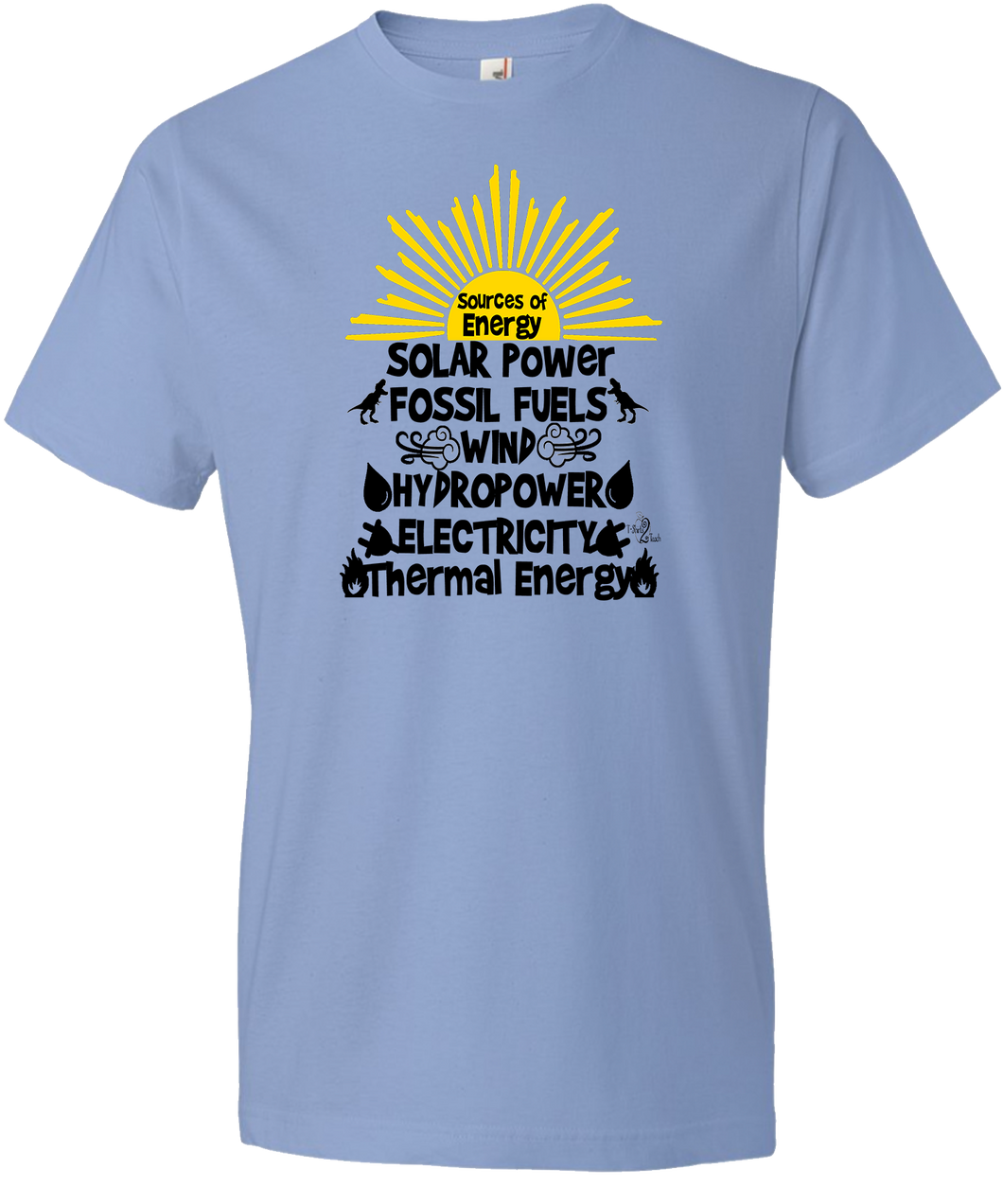 Sources of Energy Tee