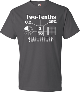 NEW!!! Fractions & Decimals Tee (PREORDER)