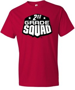 2nd Grade Squad Grade Level Tee