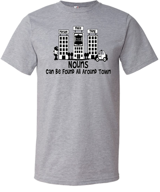 Nouns Around Town Youth Tee