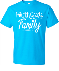 4th Grade Family Grade Level Tee