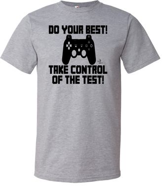 Take Control of the Test Testing Tee