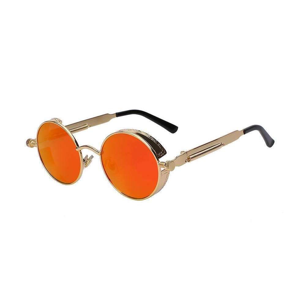 Solstice - Gold & Orange mirrored - Venic-Eyewear