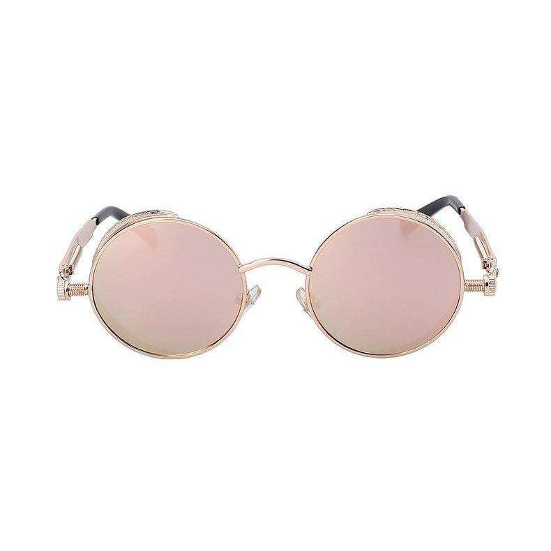 Solstice - Gold & Pink Mirrored - Venic-Eyewear