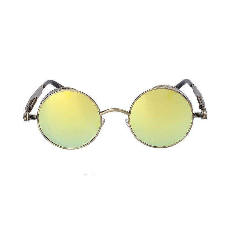 Solstice - Gold & Brass Color Mirrored - Venic-Eyewear
