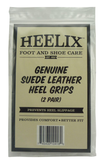 Heelix Genuine Suede Leather Heel Grips