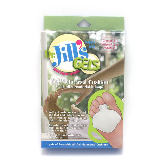 Dr. Jill's Gels Gel Metatarsal Cushion (with ultra comfortable loop)