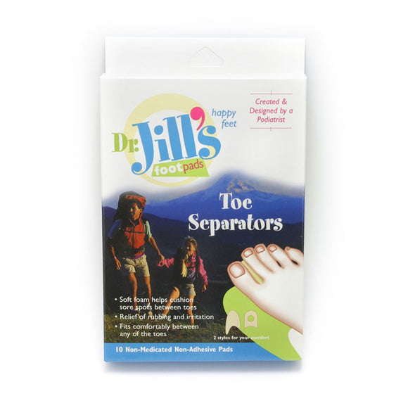 Dr. Jill's Foam Toe Separators