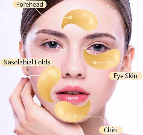 Do you want significantly more youthful and firmer-looking skin around the eyes? Then you must have our Gorudo™ 24k Gold Collagen Eye Mask! The celebrity secret to always looking youthful and refreshed, our new innovative 24k gold collagen eye mask is formulated with pure gold and cactus collagen to hydrate and regenerate tired eyes instantly.
