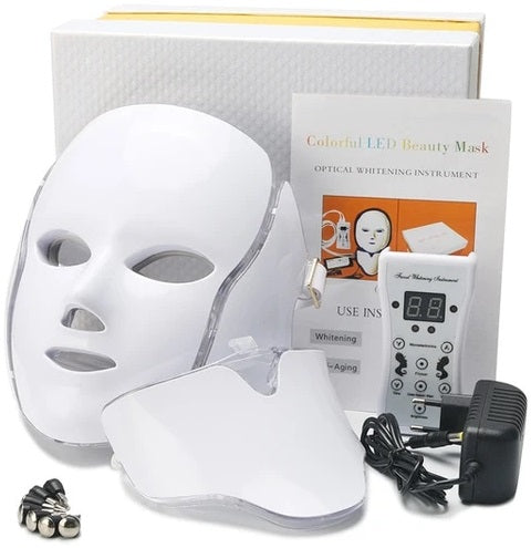 Luminate your nighttime routine with seven different colors LED lights built into the MediFwd™ 7 Colors LED Photon Light Therapy Mask. Each color is treating different skin conditions from wrinkles, acne, pigmentation, eczema, and more!