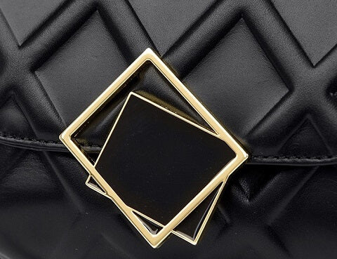 Christine Munoz handbag can be transformed from a crossbody bag to a clutch and evening bag to suit your ensembles.
