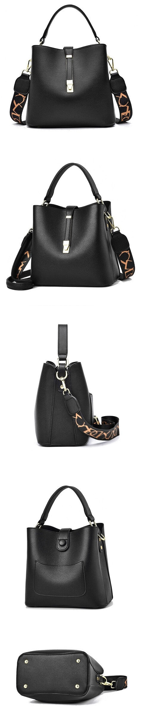 Melina Hawkins handbag can be transformed from a crossbody bag to a top-handle bag and bucket bag to suit your ensembles.