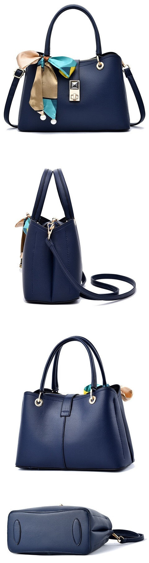 Adrienne Contreras handbag can be transformed from a crossbody bag to a top-handle bag to suit your ensembles.