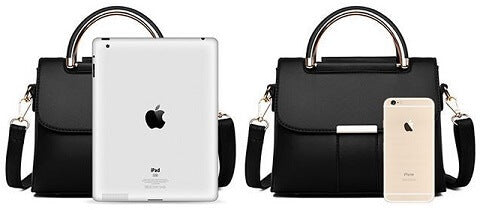 Giuliana Hurley handbag can be transformed from a crossbody bag to a top-handle bag to suit your ensembles.